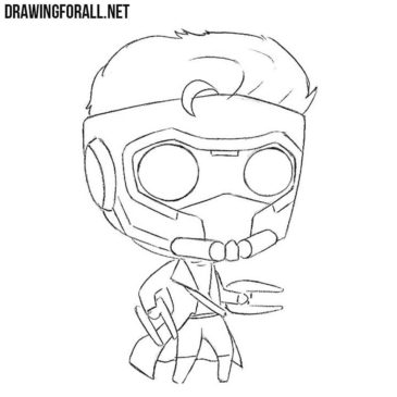 How to Draw Chibi Star Lord