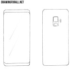 How to Draw a Samsung Smartphone