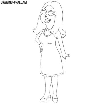 How to Draw Francine Smith