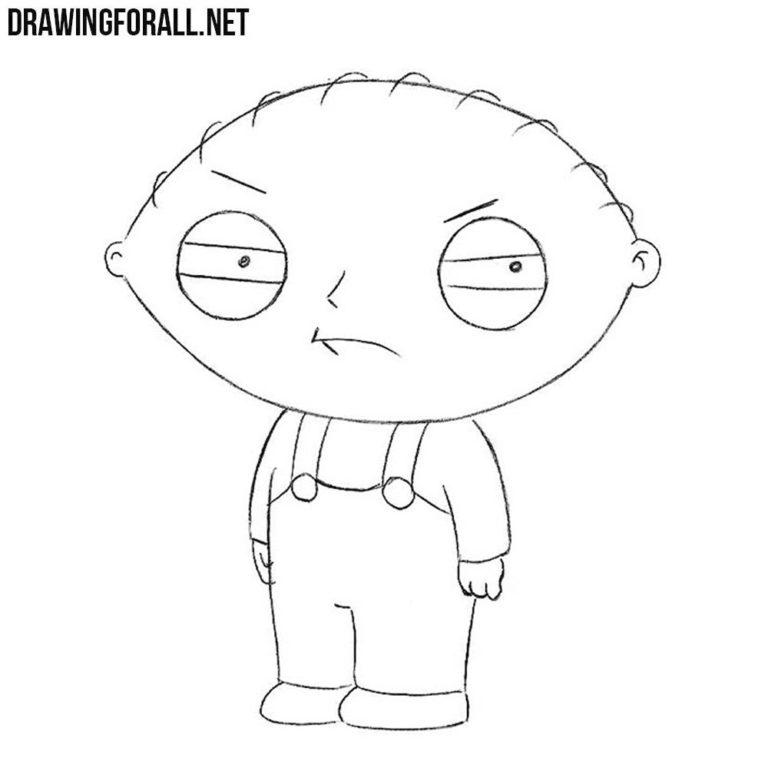 How to Draw Stewie Griffin
