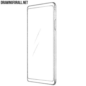 How to Draw an LG V30