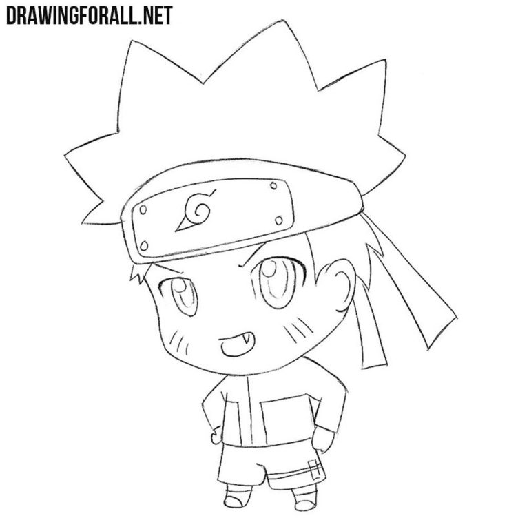 How to Draw Chibi Naruto