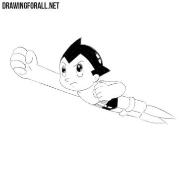 How to Draw Astro Boy