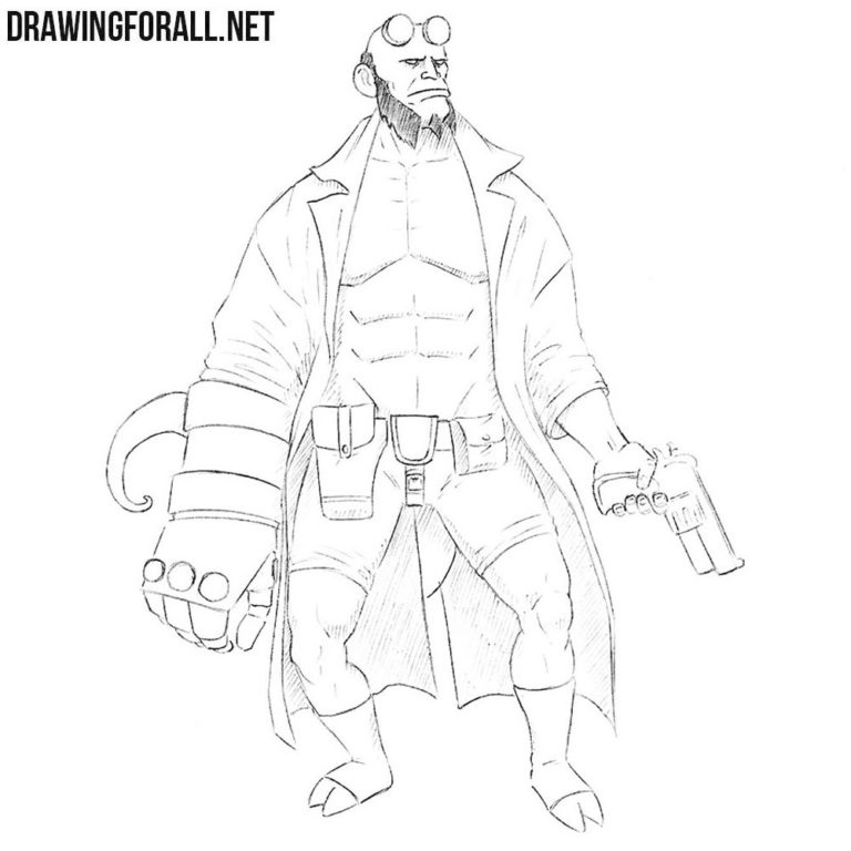 How to Draw Hellboy