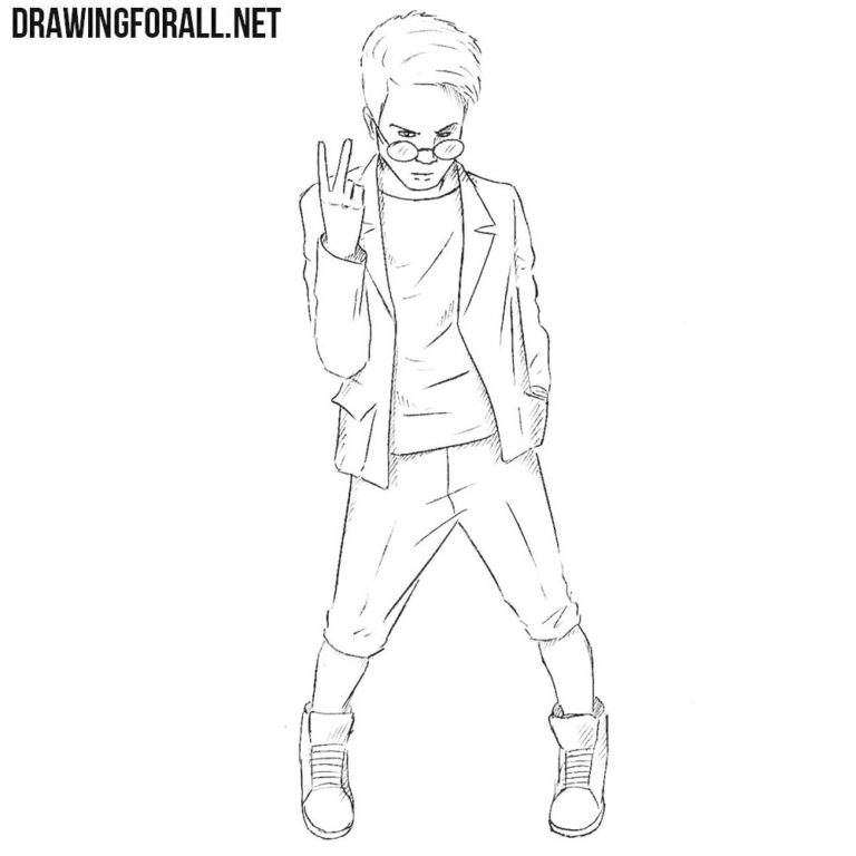 How to Draw Kid Omega