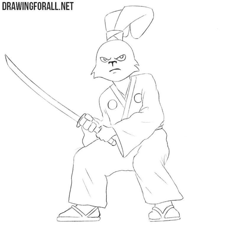 How to Draw Usagi Yojimbo
