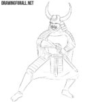 How to Draw a Samurai in Armor