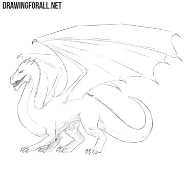 How to Draw a Dragon Easy