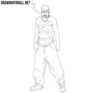 How to Draw 2Pac
