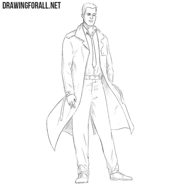 How to Draw Constantine from Comics