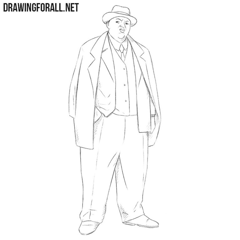 How to Draw Biggie Smalls