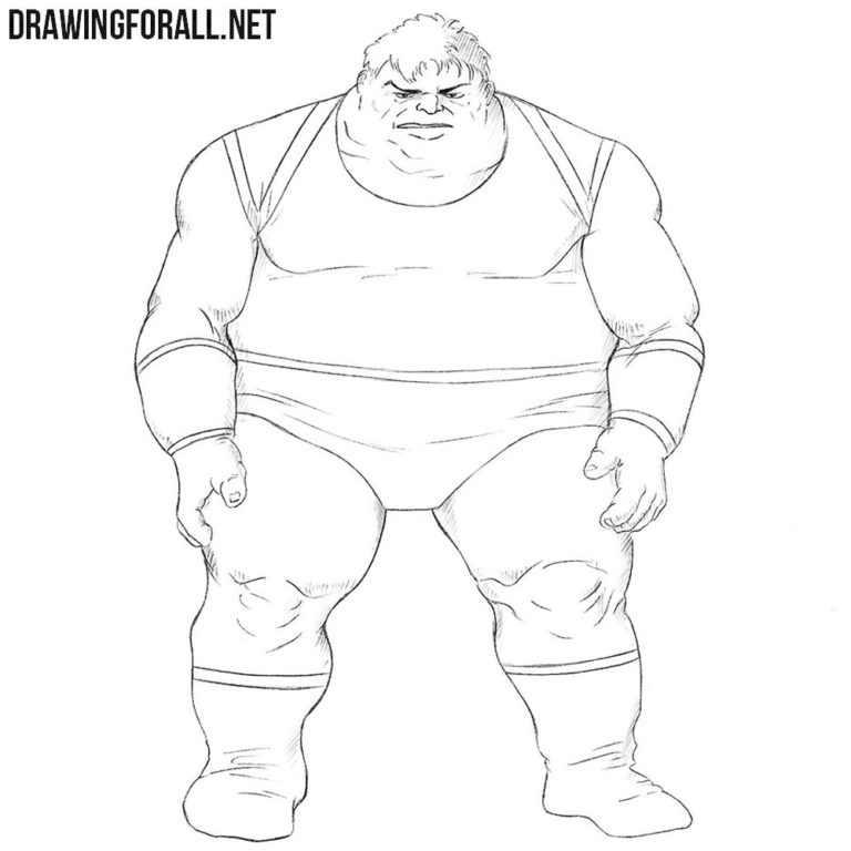 How to Draw the Blob from X-Men