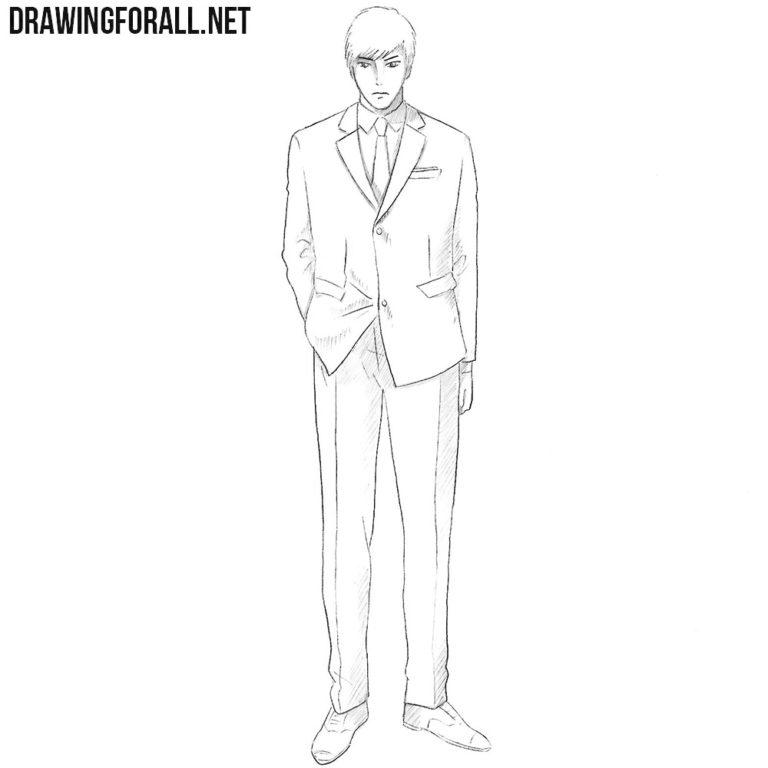 How to Draw Koutarou Amon