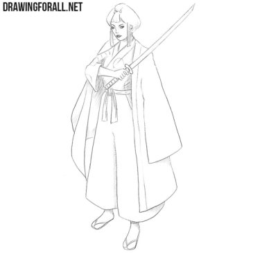 How to Draw Lady Eboshi
