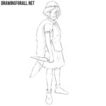 How to Draw Princess Mononoke