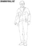 How to Draw Rick Grimes