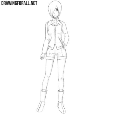 How to Draw Touka Kirishima
