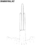 How to Draw a Rocket for Beginners