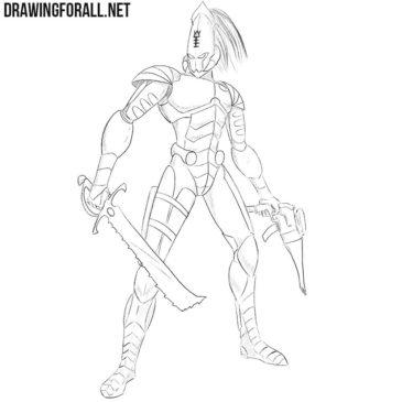 How to Draw an Eldar