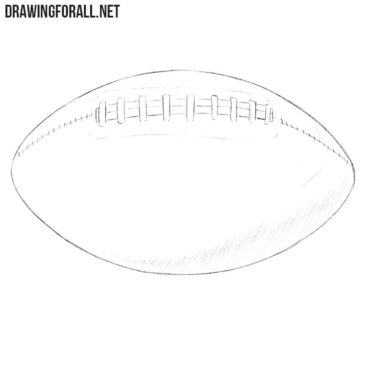 How to Draw an American Football