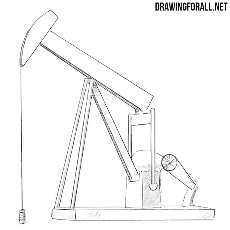 How to Draw an Oil Well