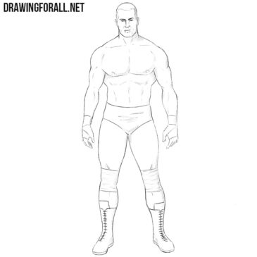How to Draw a Wrestler
