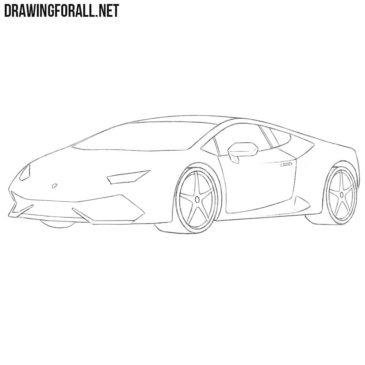 How to Draw a Lamborghini Easy