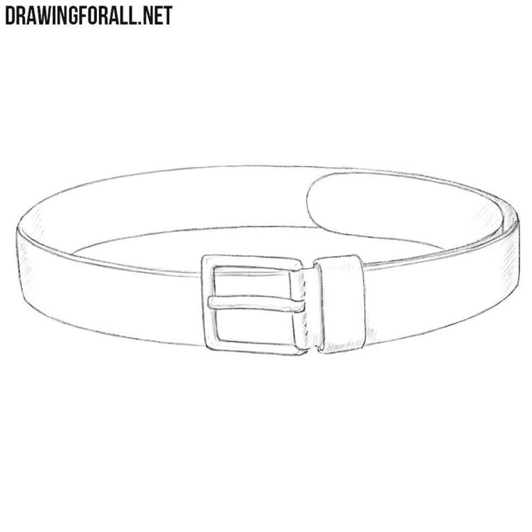How to Draw a Belt