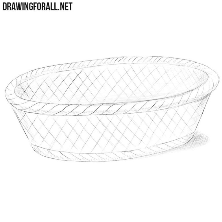 How to Draw a Bread Basket