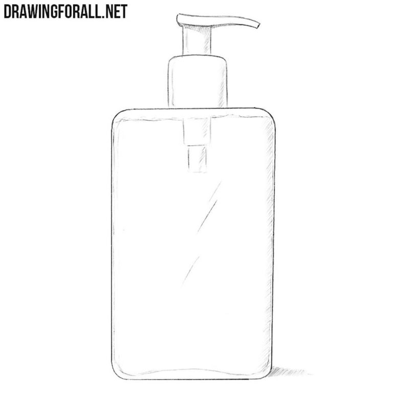 How to Draw a Liquid Soap