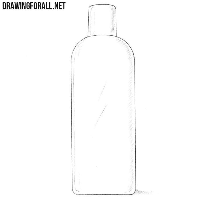 How to Draw a Shampoo