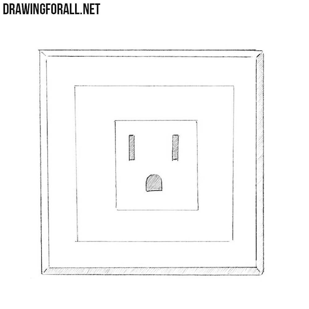 How To Draw A Socket Drawingforall Net