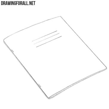 How to Draw an Exercise Book