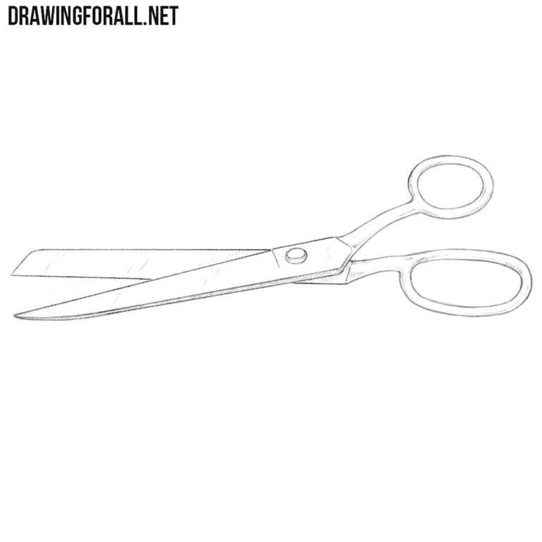 How to Draw Scissors