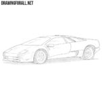 How to Draw a Lamborghini Diablo