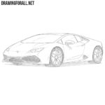 How to Draw a Lamborghini Huracan