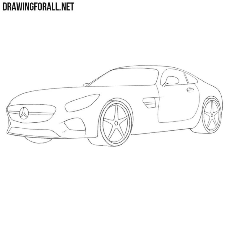 How to Easily Draw a Car