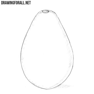 How to Draw an Avocado