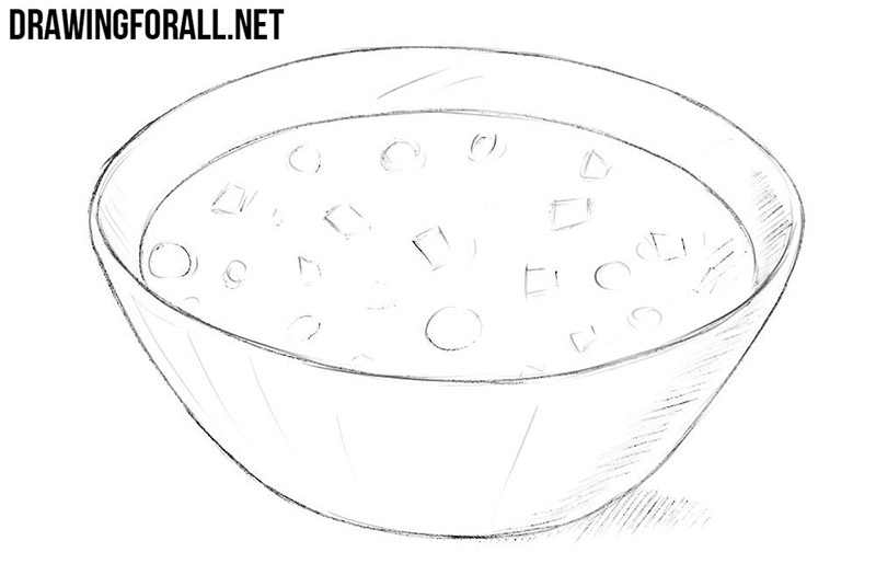 Soup drawing