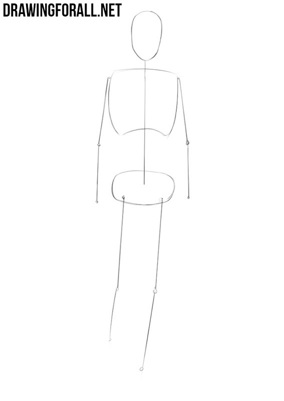 Anime body drawing tutorial
