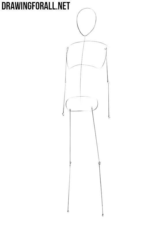 Anime drawing tutorial
