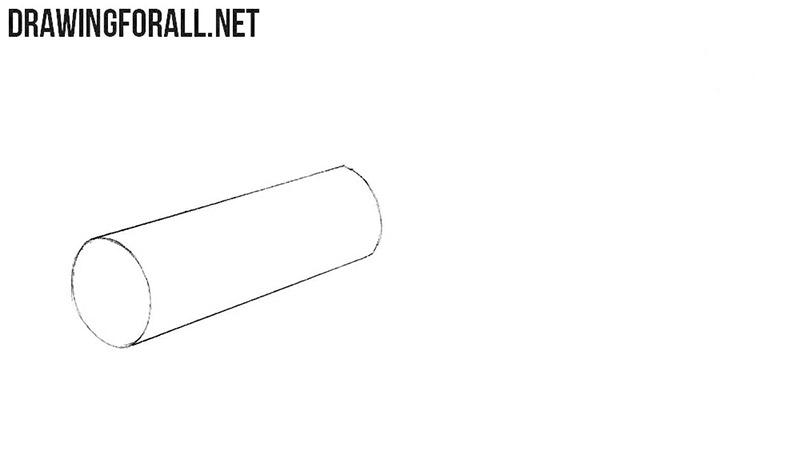 How to draw a spyglass step by step
