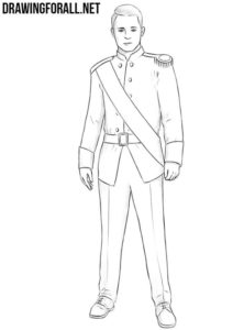 How to draw a prince