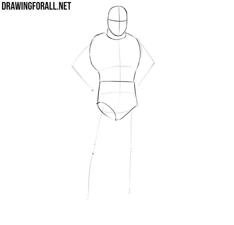 Batman drawing lesson