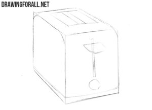 How to draw a toaster easy