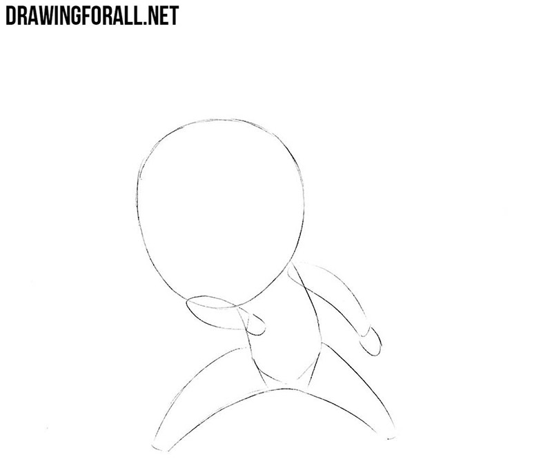 How to draw cool chibi step by step