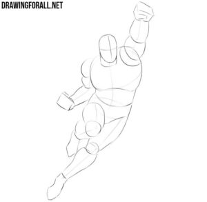 How to sketch Superman