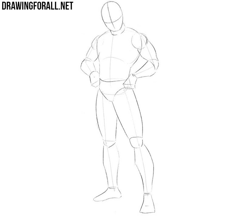 How to draw Spider-Man step by step easy