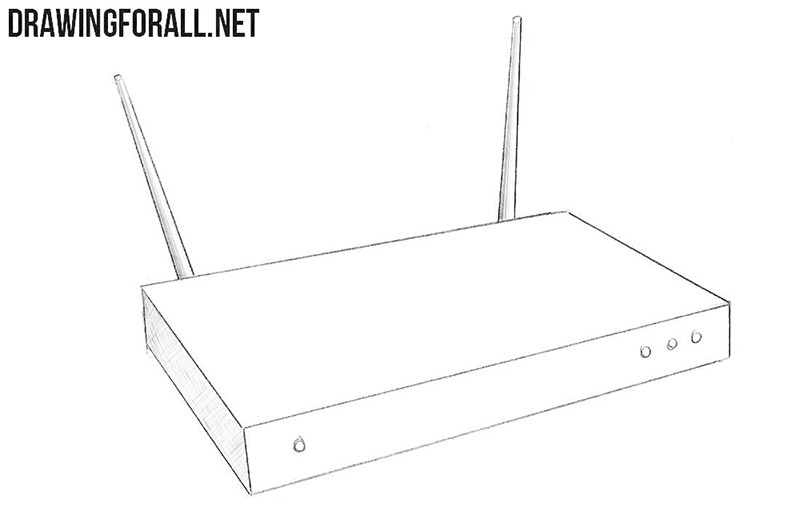 How to draw a Router
