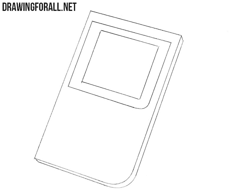 How to draw a gameboy easy